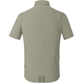 Shimano Transit Short Sleeve Check Button Up Shirt Men Dusky Green